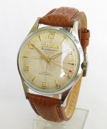 Gents 1960s Adriatica World Champion Wrist Watch (1 of 4)