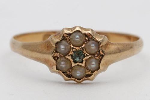 Small Victorian 18ct Gold Ring (1 of 2)