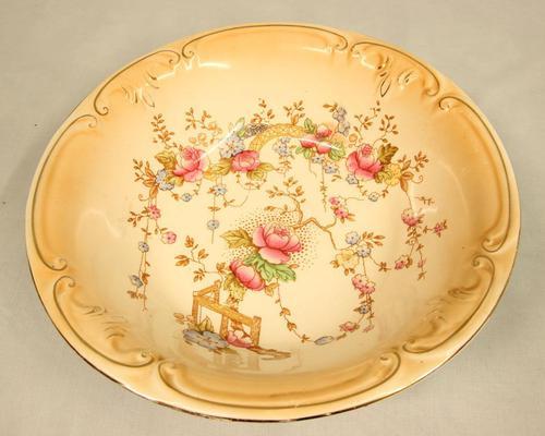 Antique Crown Devon Serving Bowl (1 of 5)
