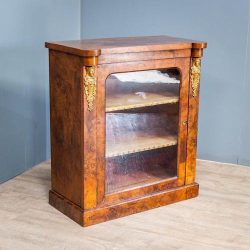 Burr Walnut Pier Cabinet (1 of 12)