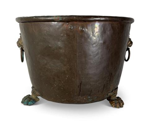 English Large Copper Log Bin (1 of 8)