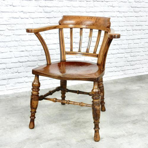 Victorian Captain's Chair (1 of 6)