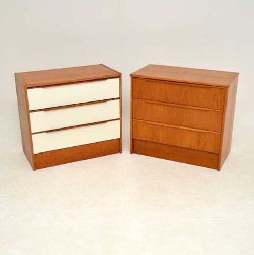 Pair of Danish Teak Vintage Chests of Drawers (1 of 11)