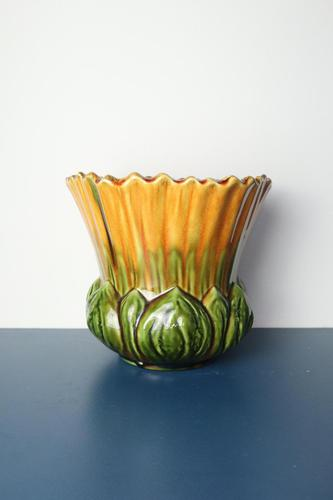 Arts & Crafts Ault Art-pottery Floriform 'Convolvulus' Jardinière c.1895 (1 of 22)