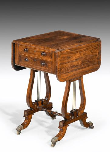 Regency Period Rosewood Table of Small Proportions (1 of 5)