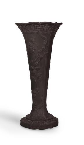 Wedgwood Basalt Stem Vase (1 of 4)