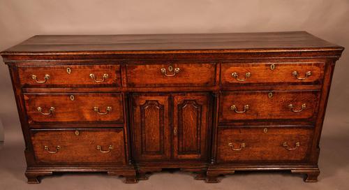 Good Georgian Oak Serving Dresser (1 of 12)