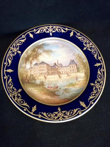 Superb Quality Sevres Plate (1 of 3)