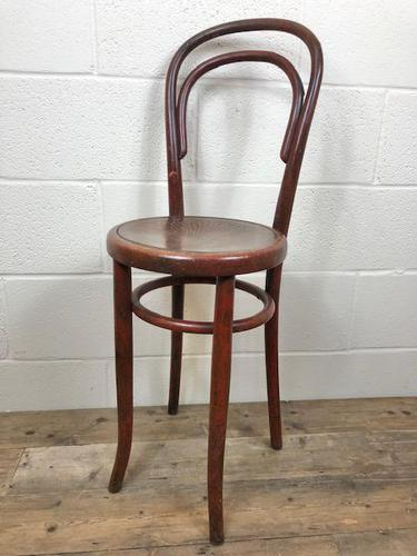 Small Red Bentwood Chair (1 of 8)