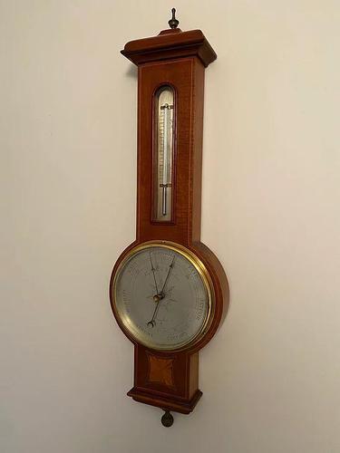 Negretti & Zambra, Edwardian Hall Barometer (1 of 5)