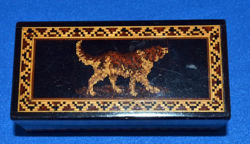 Victorian Tunbridge Ware Ring Box (1 of 4)