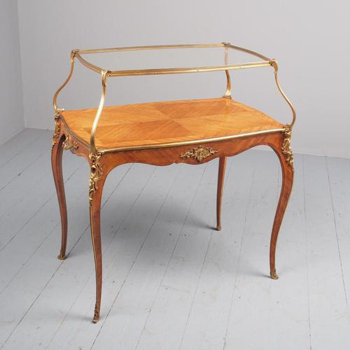 Victorian French Walnut Etagere or Side Table (1 of 15)