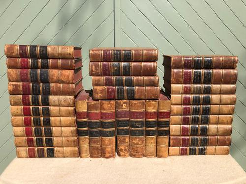 30 Antique Leather Bound Law Books 1880-1910 (1 of 7)