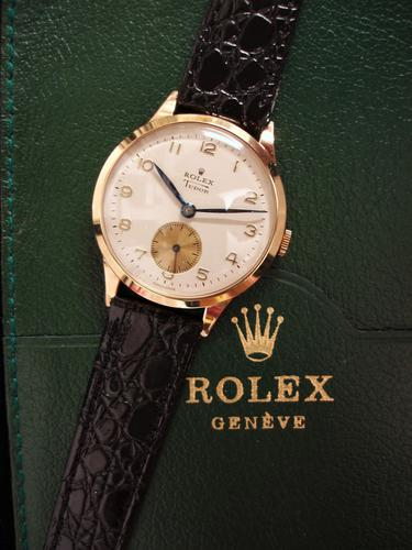 Rolex Tudor Solid Gold Wristwatch (1 of 5)