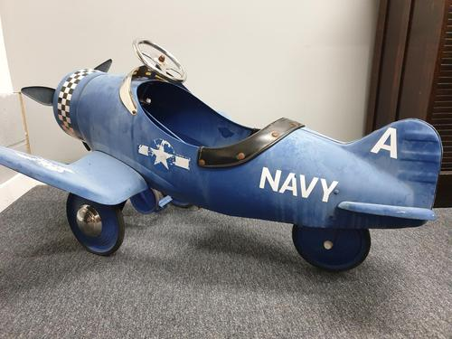 Airflow Collectibles inc. Child's A22 Navy Pedal Aeroplane (1 of 9)