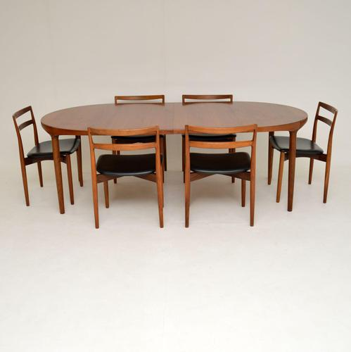 Danish Vintage Teak Dining Table & Chairs by Harry Ostergaard (1 of 14)