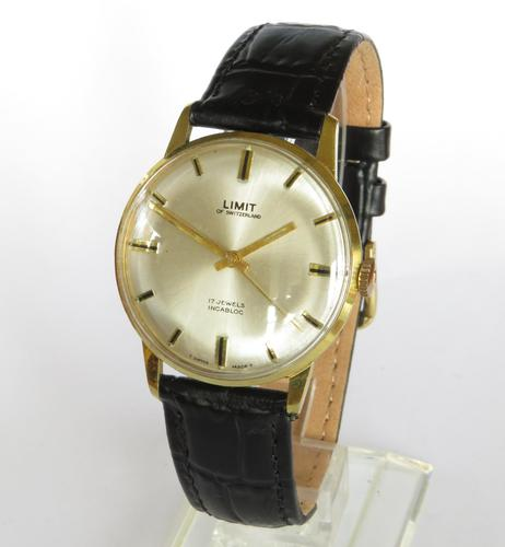 Gents 1960s Limit Wrist Watch (1 of 4)