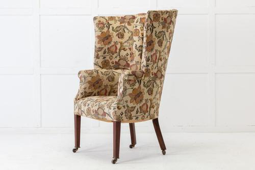 Late 19th Century English Barrel Back Armchair (1 of 6)