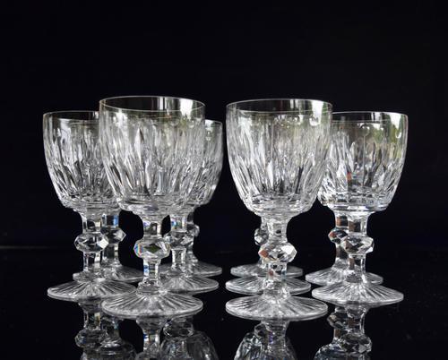 10 Val Saint Lambert Charles X Water Goblets (1 of 5)