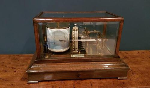 Antique Armstrong of Manchester Oak Barograph (1 of 8)