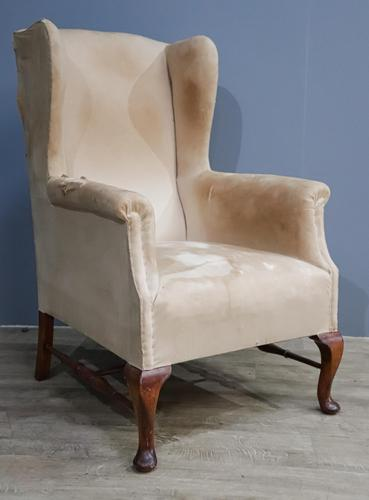 Edwardian Winged Chair (1 of 10)