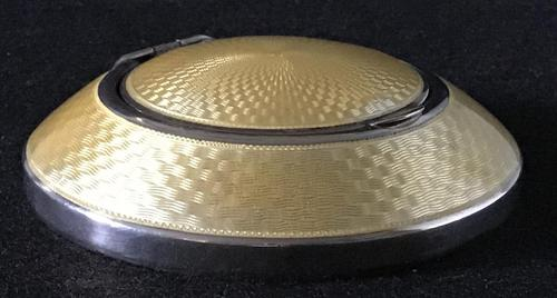 George V Silver & Enamel Compact (1 of 7)