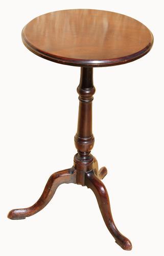 Superb George III Circular Mahogany Wine Table (1 of 4)
