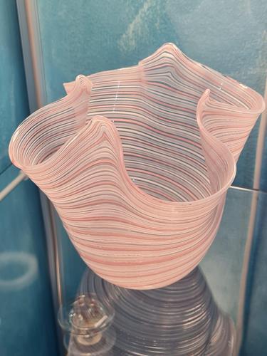 Salviati Glass Vase in Pale Pink (1 of 12)