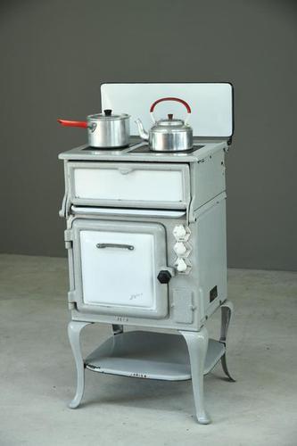 1930s Grey Enamel Electric Cooker (1 of 13)