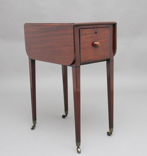 Early 19th Century Mahogany Pembroke Table (1 of 5)