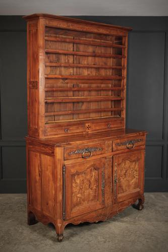 Large Cherrywood & Walnut Dresser (1 of 13)