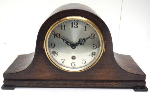 Napoleon Hat Shaped Mantel Clock – Musical Westminster Chiming 8-day Mantle Clock (1 of 10)