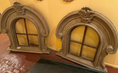Two Dormer Windows in Cast Iron - 19th Century (1 of 11)