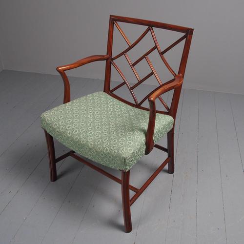 Scottish Mahogany Cockpen Chair by Whytock & Reid (1 of 6)