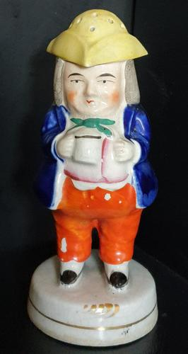 Staffordshire 'Toby' Pepper Pot c.1850 (1 of 6)