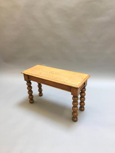 Victorian hall bench seat (1 of 7)