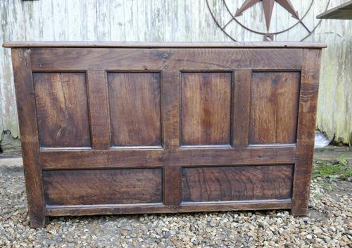 18th Century Country Oak Coffer (1 of 9)