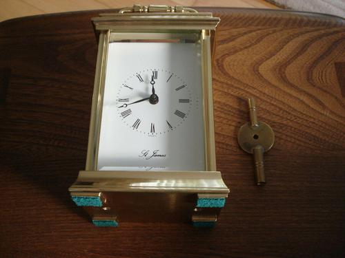 Rare St James 8 day 11 jewel Carriage Clock (1 of 7)