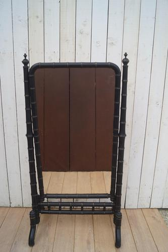 Faux Bamboo Cheval Mirror (1 of 8)