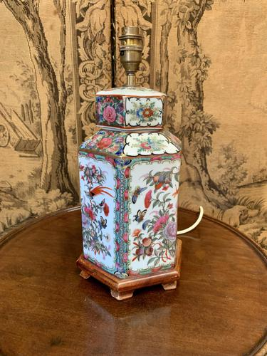 Early 20th Century Chinese Lamp (1 of 3)