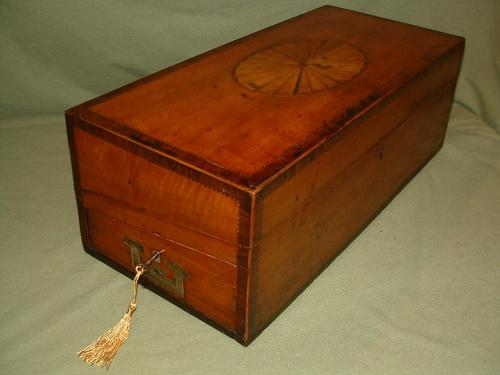 Rare Georgian Inlaid Writing Box. c1790 (1 of 13)