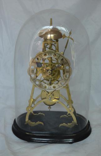 Victorian Skeleton Clock Passing Strike (1 of 5)