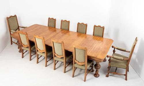 Stunning Oak Dining Room Suite (1 of 26)