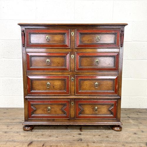 Vintage Oak TV Cabinet Chest (1 of 9)