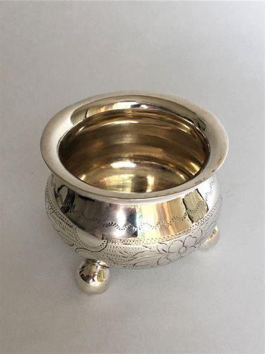 Pre-Revolution Russian Silver Condiment Tub (1 of 7)