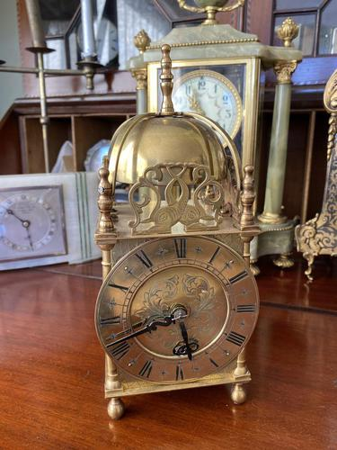 Lantern Clock made in England - Coventry Movement 1930's 8 Day (1 of 5)