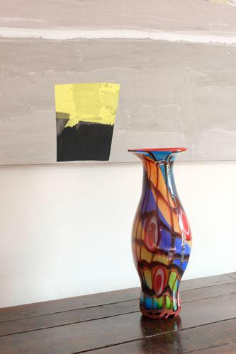 Contemporary Art Glass Vase in the style of Murano (1 of 12)
