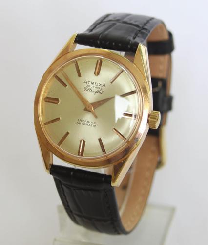 Gents 1950s Atrexa Ultra-Flat Gents Wrist Watch (1 of 4)
