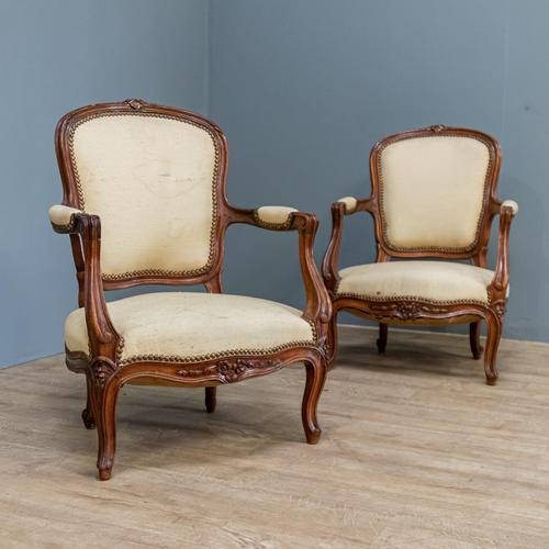 Pair of Small Chairs (1 of 10)