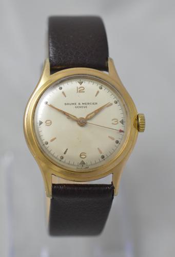 1950s Baume & Mercier, Geneve, Wristwatch (1 of 5)